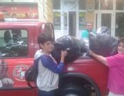 Gyerekeket, családokat segítettünk ruhához