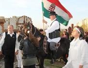 A béke, a hazafiság, a testvériség jegyében gyülekeztünk október 23-án