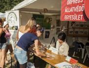 Állatvédők a Sziget 2014 Fesztiválon - pillanatképek