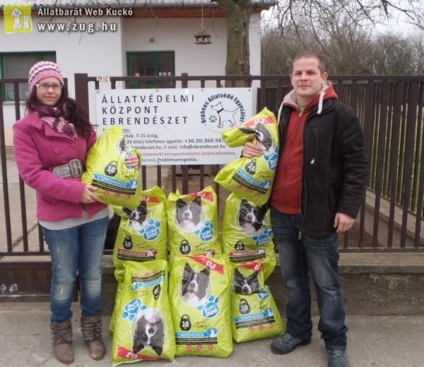 Az állatmentés támogatása