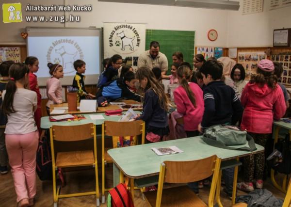Iskolai állatvédelmi oktatás