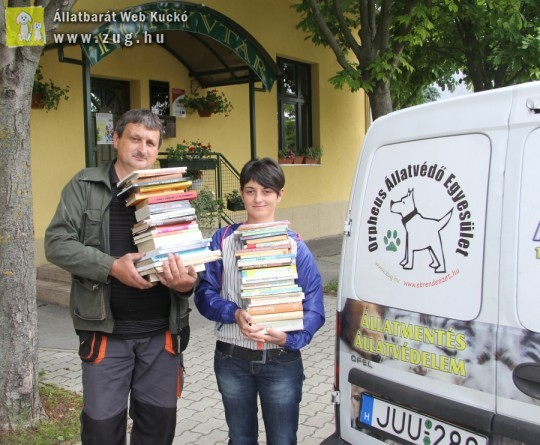 Könyvek Kárpátaljára