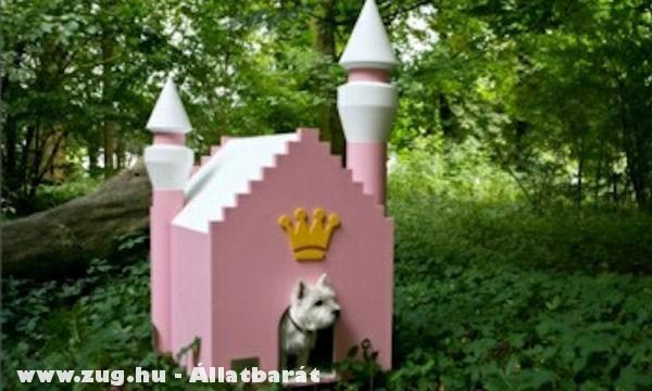Kutyaház, luxus kutyavár