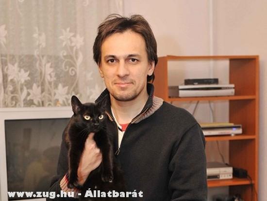 Tabáni István macskabolond :D