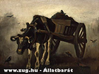 Van Gogh - Ox Cart