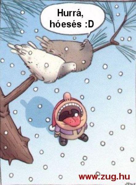 Hull a hó, mesebeli álom :)