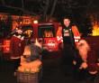 Mentett kutya, a karácsonyi vásárban kóborolt