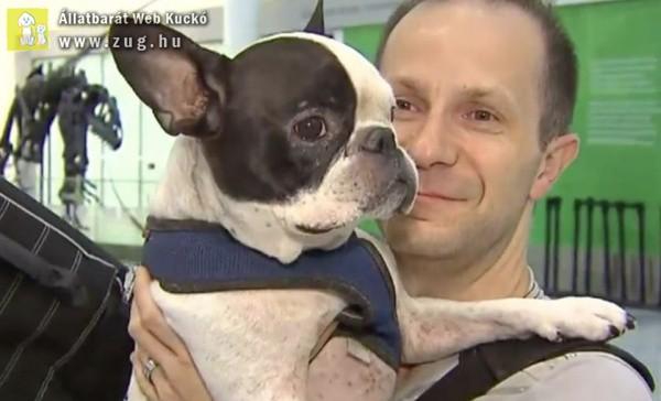 Hamarabb szállt le a pilóta, hogy megmentse a kutyus életét